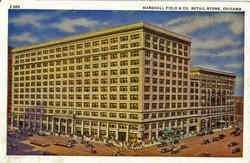 Marshall Field & Co. Retail Store Postcard
