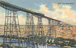 Pecos High Bridge Postcard