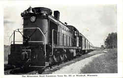 The Milwaukee Road Passenger Train