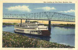 Boat Landing On Ohio River
