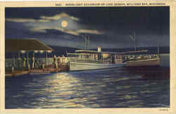 Moonlight Excursion On Lake Geneva
