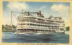Coney Island Excursion Steamer Island Queen