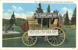 The Overland Trail Stage Coach