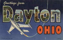 Greetings From Daytona Postcard