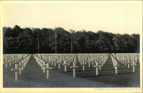 American Cemetery Hamm Luxembourg