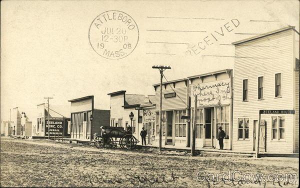 Main Street Zeeland North Dakota