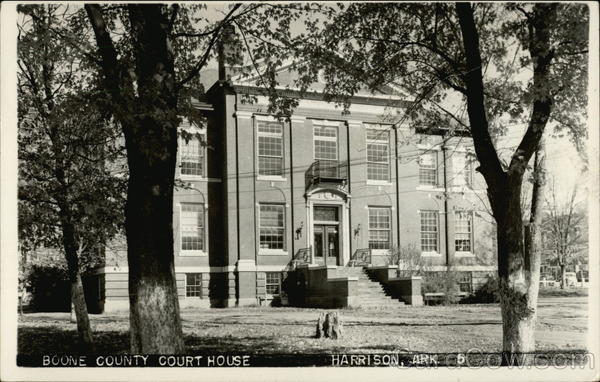 Boone County Court House Harrison Arkansas