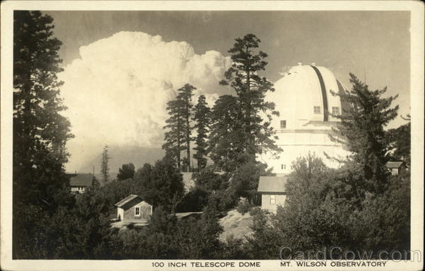 100 Inch Telescope Dome, Mt. Wilson Observatory Mount Wilson California