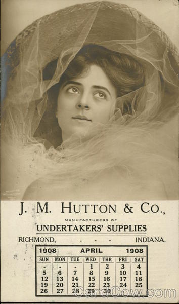 J. M. Hutton & Co., Undertakers' Supplies Richmond Indiana