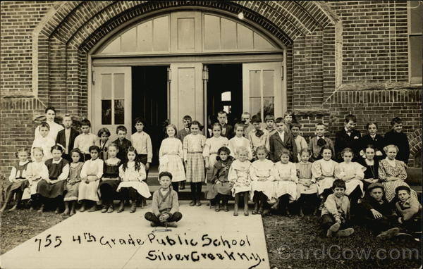 4th Grade Public School Silver Creek New York