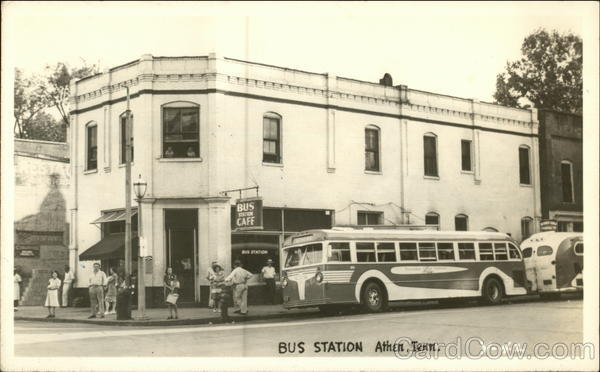 Bus Station Athen Tennessee