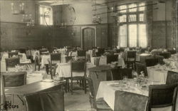 Sanatorium of The Christian Science Benevolent Association - Main DIning Room Postcard