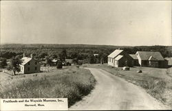 Fruitlands and the Wayside Museums, Inc Postcard