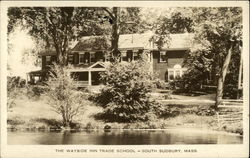 The Wayside Inn Trade School Postcard