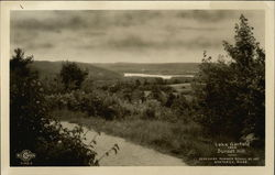 The Berkshire Summer School of Art - Lake Garfield from Sunset Hill Postcard