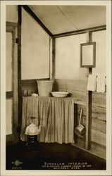 The Berkshire Summer School of Art - Bungalow Interior Postcard