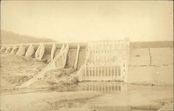 Wyman Dam On The Kennebec River Postcard