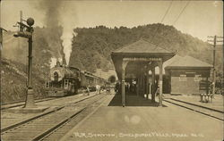 Railroad Station of Shelburne Falls