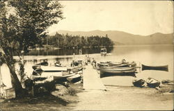 The Boat Landing Postcard