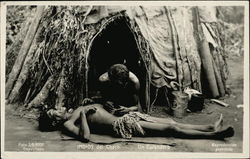 Medicine Man Treating Patient