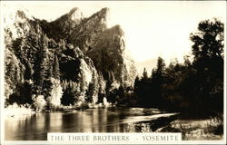The Three Brothers, Yosemite