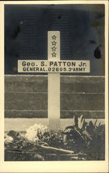 Grave of Geo. S. Patton Jr. General 3rd Army