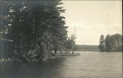Brown's Point, Lake Kezar Postcard
