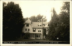 Home of James A. Garfield - Lawnfield, East View