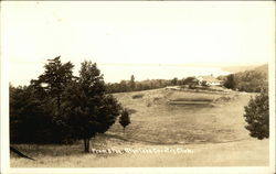 From 8th Tee, Glen Lake Country Club Postcard