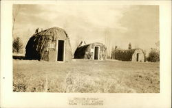 The Pioneers Village - English Wigwams