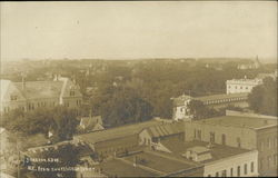 View NE from Courthouse Tower