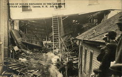 Ruins of Boiler Explosion in the Lakeport Steam Laundry