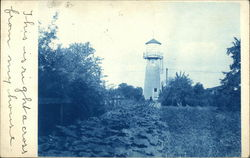 View of Tower Postcard