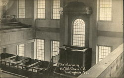 The Interior of the Old Church