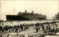 S.S. Morro Castle Ashore at Asbury Park, NJ