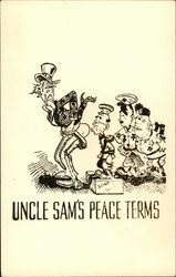 Uncle Sam's Peace Terms