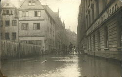 Flooded Streets in Germany