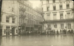 Flooded Hotels in City