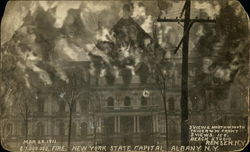 New York State Capitol Building - Fire Mar.29th, 1911