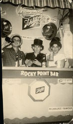 Rocky Point Bar Showing Schlitz Signage