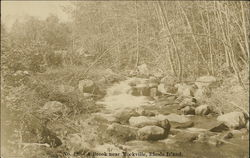 A Brook Near Rockville, Rhode Island