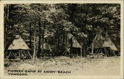 Pioneer Camp at Sandy Beach, Camp Yawgoog