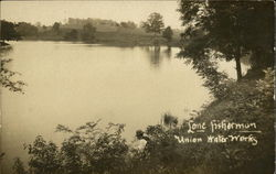 Lone Fisherman, Union Water Works