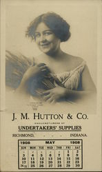 J. M. Hutton & Co., Undertakers' Supplies Postcard