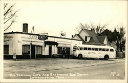 Bus Terminal Cafe and Greyhound Bus Depot