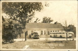 Bus Station, Monteagle Hotel