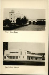 Frisco Lines Depot And Rand's Bus Station