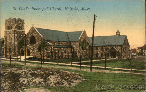 St. Paul's Episcopal Church Holyoke Massachusetts