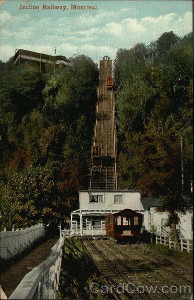 Incline Railway Montreal Canada Quebec