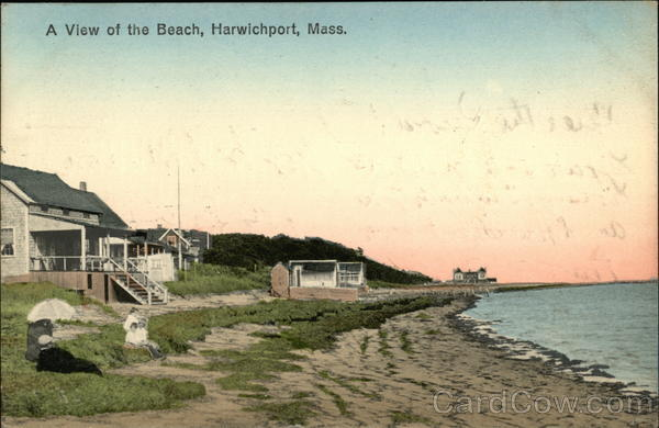 A View of the Beach Harwich Port Massachusetts